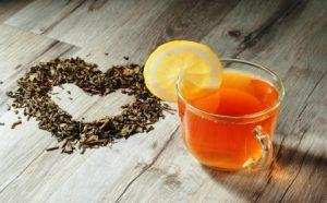 šálka čaju lapacho
