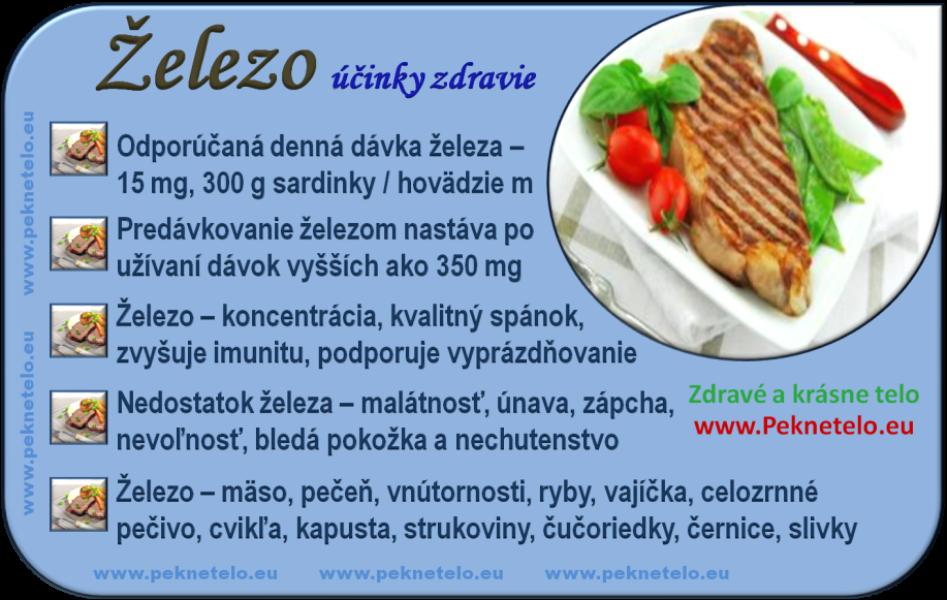 Železo - info obrázok