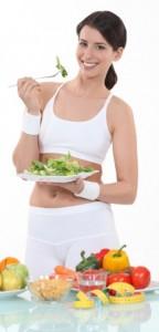 zena a zdrava strava
