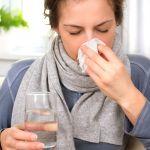 bolest hrdla - chripka