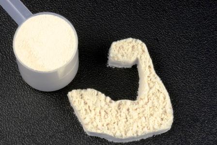 Bielkovinový prášok hrachový proteín - doplnok pre podporu tvorby svalov