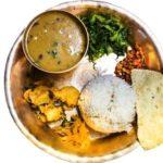 dal bhat tradicne nepalske jedlo