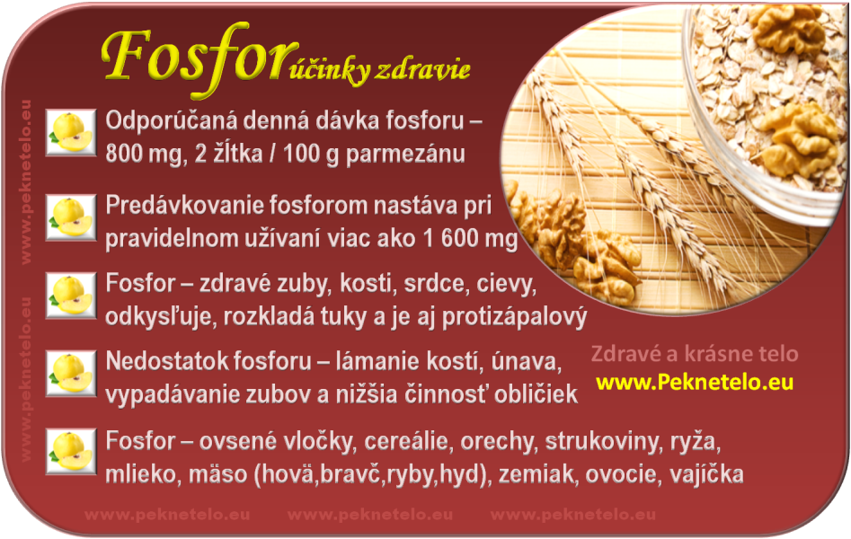 Fosfor - info obrázok
