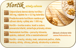Horčík - info obrázok