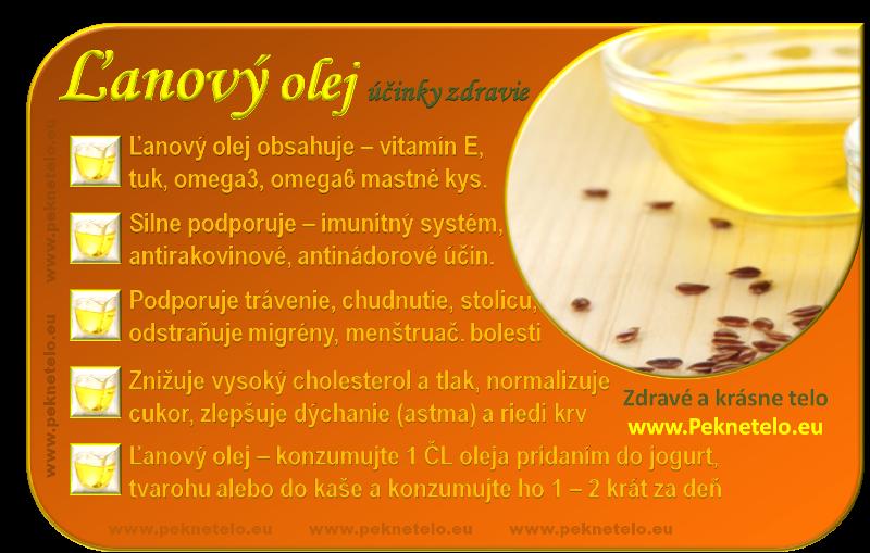 lanovy olej obrazok