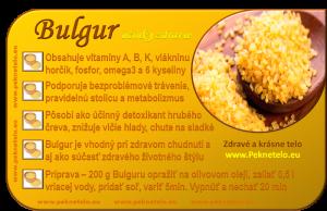 obilnina bulgur