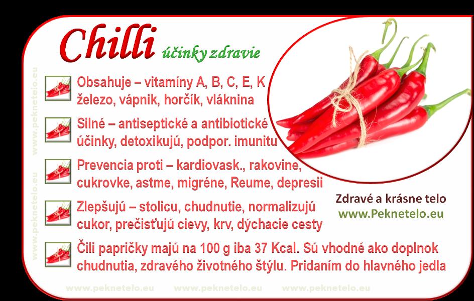 Info obrazok chilli