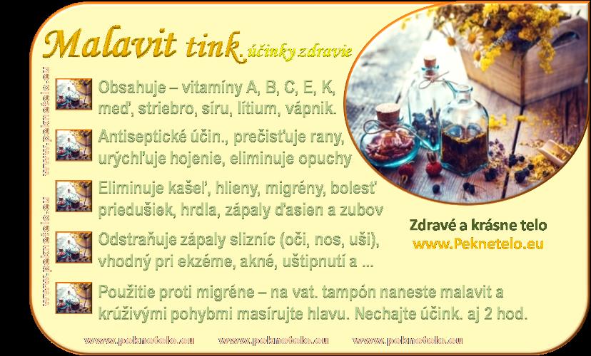 Info obrázok malavit