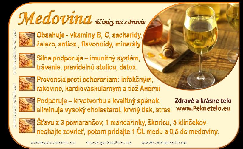 Info obrázok medovina