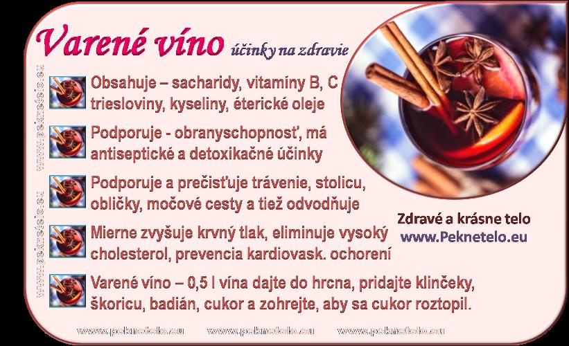 Info obrázok varené víno