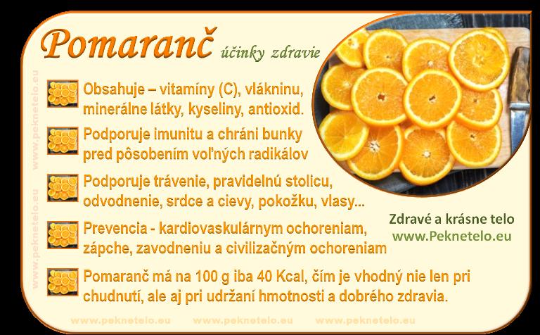 Info obrázok pomaranč
