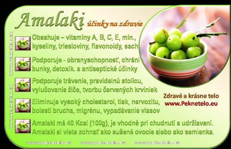 Info obrazok amalaki ovocie