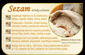 Info obrazok sezam