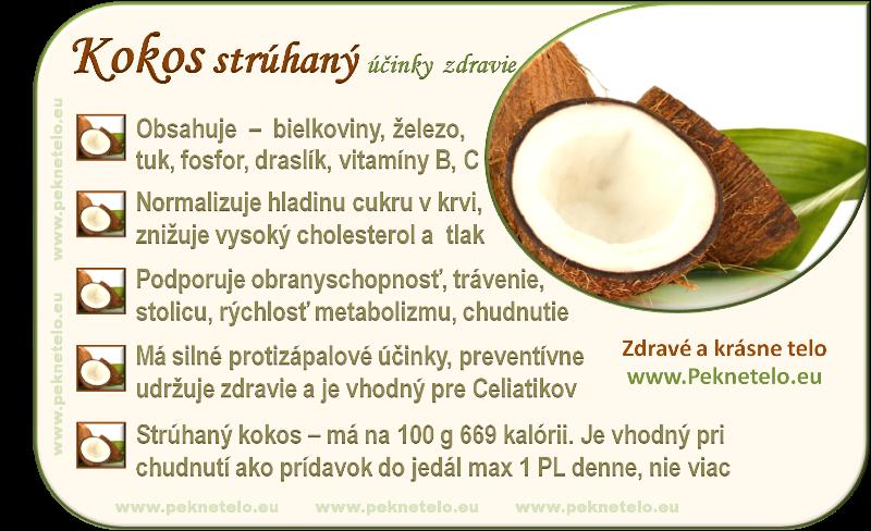 obrazok struhany kokos