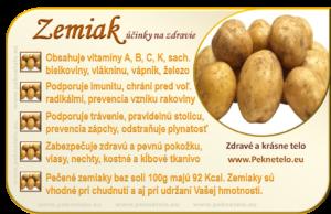 Info zemiak