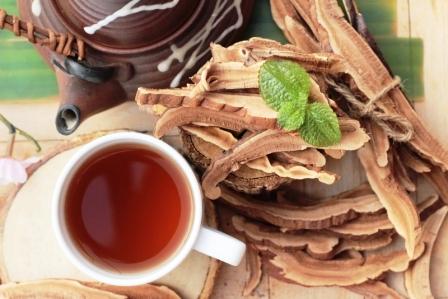 Lingzhi hubová reishi káva