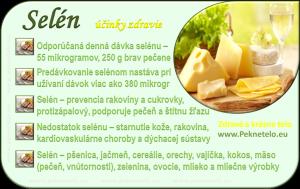 Selén - info obrázok