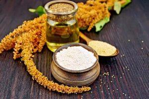 amarant láskavec múka, semená a olej