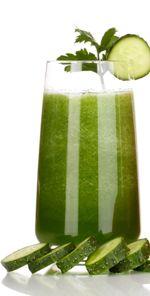 avokadovo uhorkove smoothie