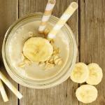 bananove smoothie s vlockami