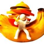 banany a ovocie