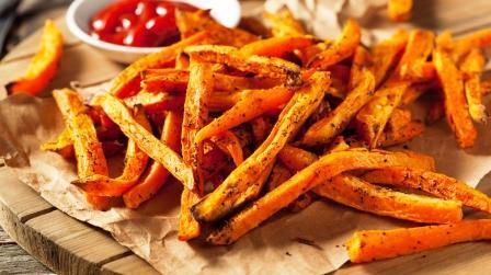 Batáty hranolky (zo sladkých zemiakov)