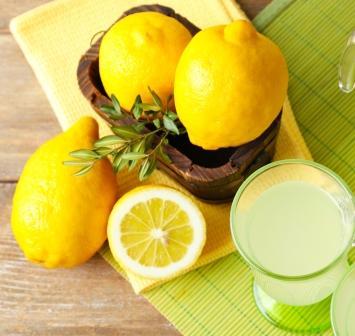 citrónová voda
