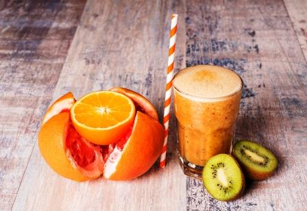 citrusové smoothies