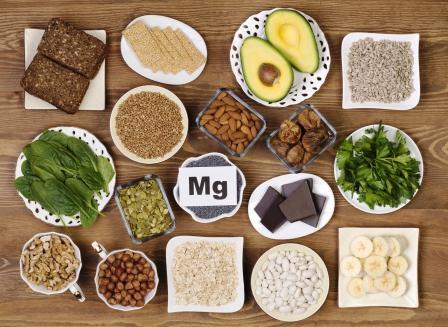 horčík magnézium potraviny s jeho obsahom