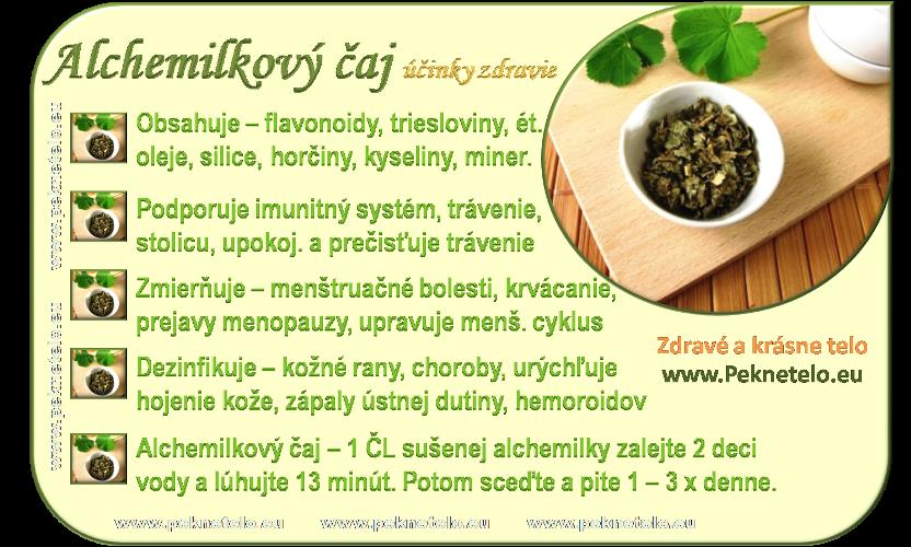 info alchemilkový čaj