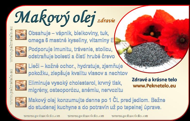 info makovy olej sk