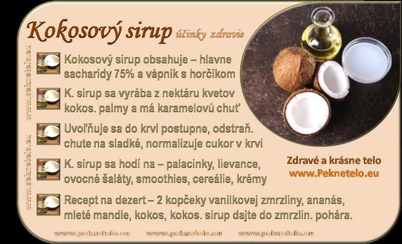 info obrazok kokosovy sirup