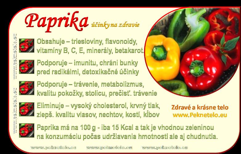 info obrazok papriky