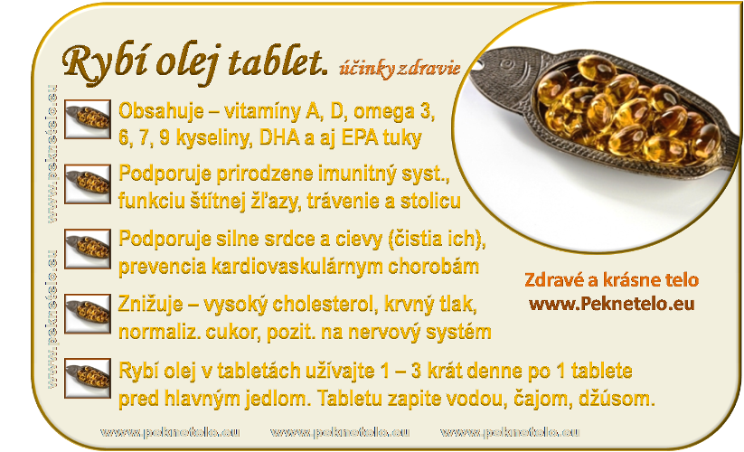 info obrazok rybi olej v tabletach