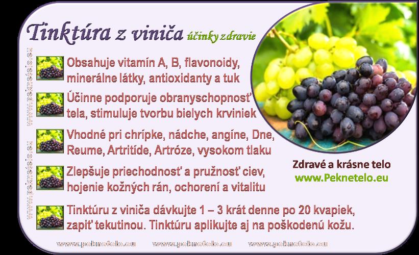 info obrazok tinktura z vinica