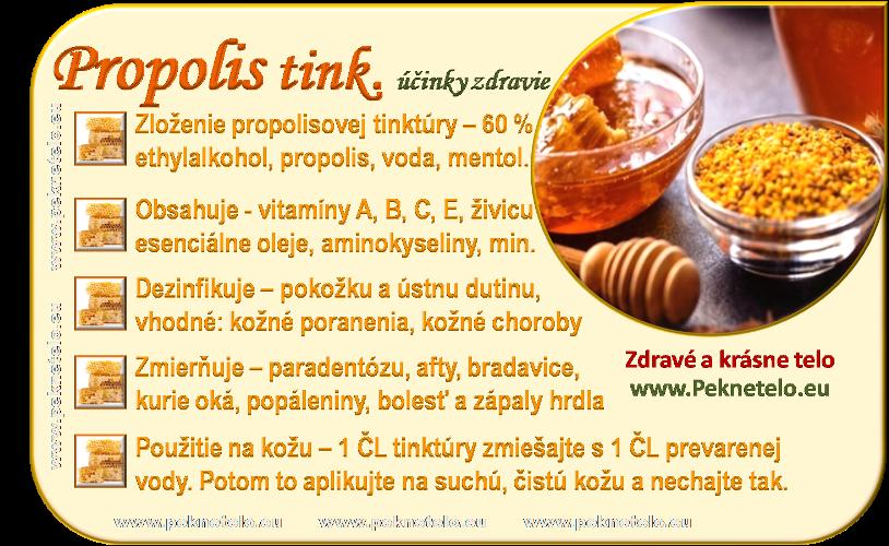 info propolisova tinktura
