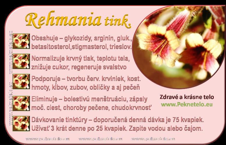 info rehmania tinktura