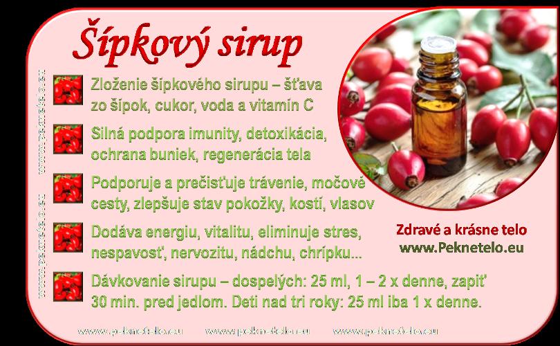 info sipkovy sirup