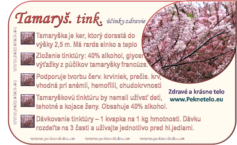 info tamaryskova tinktura