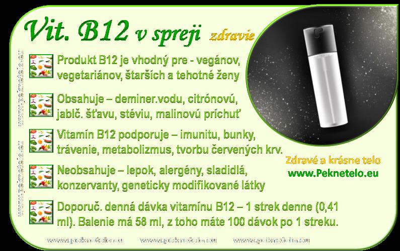info vitamin B12 sprej