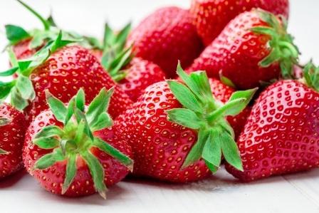 jahody cervene