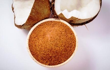 kokos s kokosovym cukrom