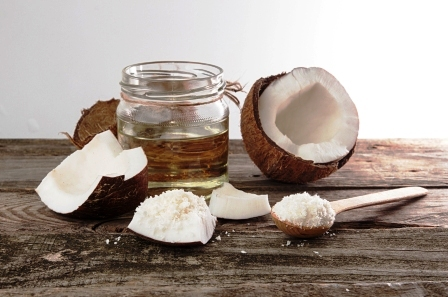 kokosove kusky s kokosovym sirupom