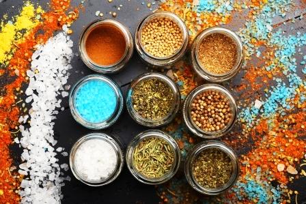 morska sol s bylinami