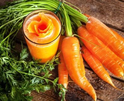 zvazok mrkvy