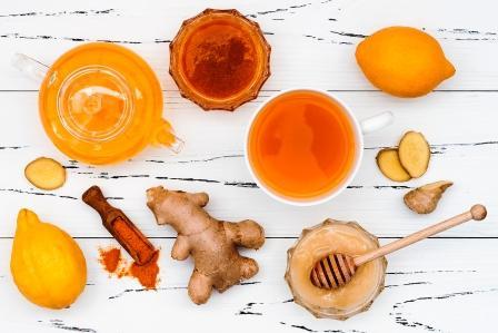 nealkoholický drink, čo použiť, citrón, zázvor, kurkuma