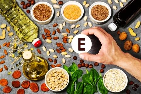 potraviny bohaté na vitamín E