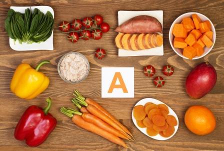 potraviny bohate na beta karoten a vitamin A