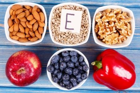 potraviny obsahujuce vitamin E