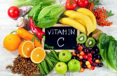potraviny s vysokým obsahom vitamínu c